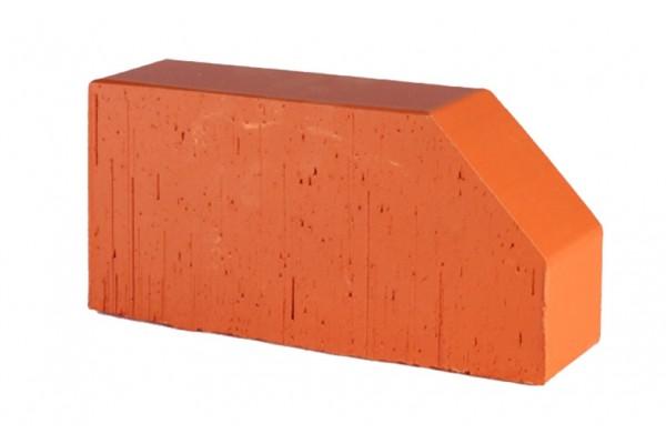 Печной кирпич полнотелый фигурный Lode Janka F6 гладкий 250*120*65 мм