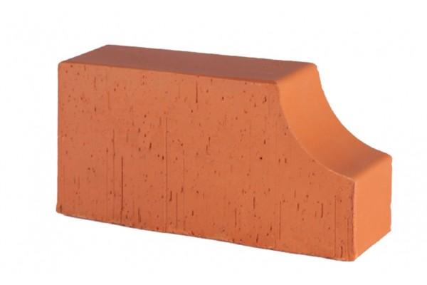 Печной кирпич полнотелый радиусный Lode Janka F13 гладкий 250*120*65 мм