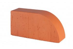 кирпич полнотелый радиусный Lode Janka F17 гладкий 250*120*65 мм