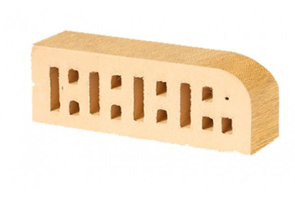 Кирпич радиусный пустотелый Lode Asa Sarmite F15 шероховатый 250*85*65 мм