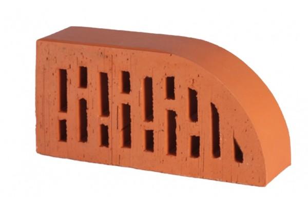Облицовочный кирпич радиусный пустотелый Lode Janka F17 гладкий 250*120*65 мм