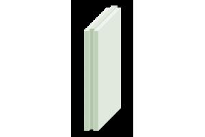 Плита пазогребневая Магма полнотелая влагостойкая 667x500x80 мм