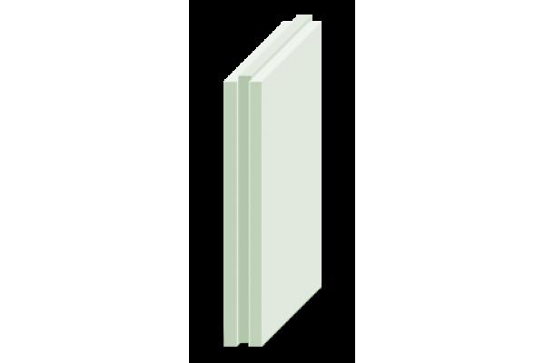 Гипсовая пазогребневая плита Магма полнотелая, влагостойкая, 80 мм