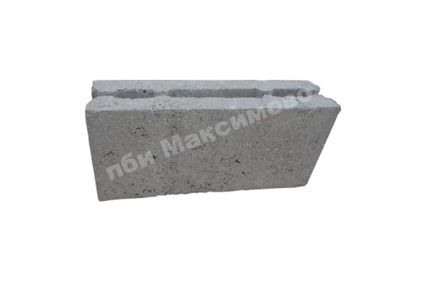 Блок керамзитобетонный перегородочный пустотелый 390-90-188 мм ПБИ Максимово