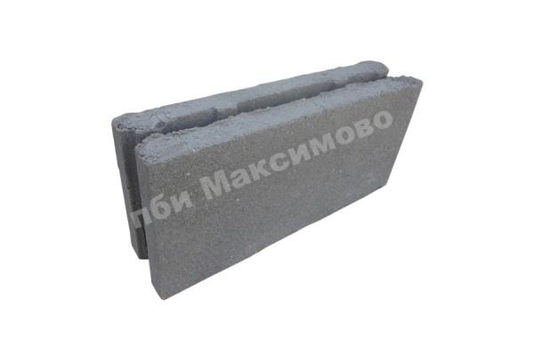 Блок пескобетонный перегородочный пустотелый 390-90-188 мм ПБИ Максимово