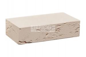Печной кирпич полнотелый Белый кора дерева 1НФ КС-Керамик
