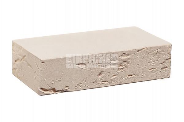 Кирпич печной полнотелый Белый кора дерева 1 НФ КС-Керамик