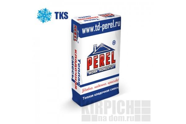 Теплоизоляционный кладочный раствор TKS Perel эффективный зимний