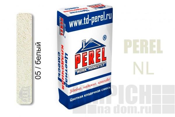Цветная кладочная смесь Perel NL белая