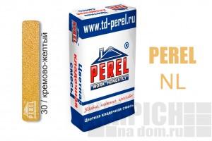 Цветная кладочная смесь Perel NL кремово-желтая