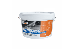 Гидроизоляция готовая эластичная Аквастоп Паста Perfekta, 5 кг