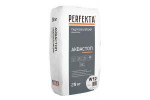 Гидроизоляция обмазочная Perfekta Аквастоп W12, 20 кг