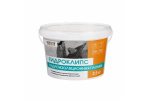 Гидроизоляционная пломба  Perfekta Гидроклипс, 2,5 кг