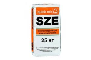 Быстротвердеющая цементная стяжка SZE Quick-mix