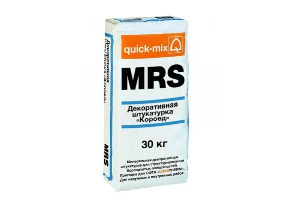 Декоративная штукатурка Короед MRS Quick-mix