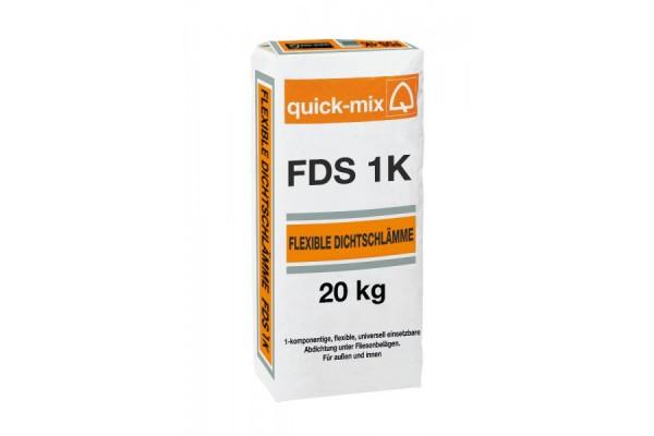 Эластичный гидроизоляционный раствор-шлам FDS 1K Quick-mix