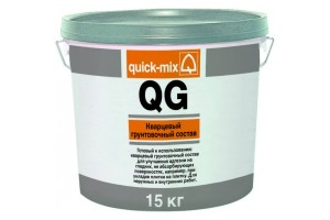 Кварцевый грунтовочный раствор QG Quick-mix