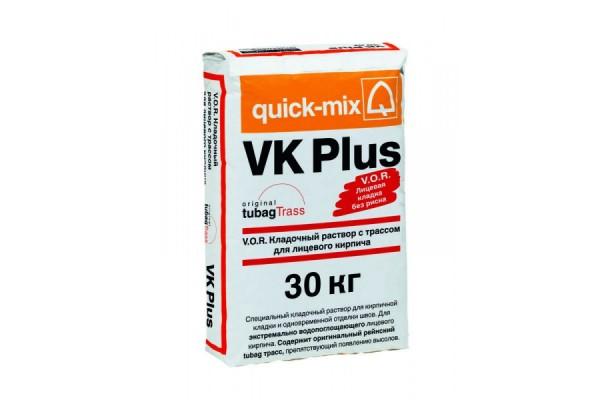 Кладочный раствор для лицевого кирпича VK Plus V.O.R. Quick-mix