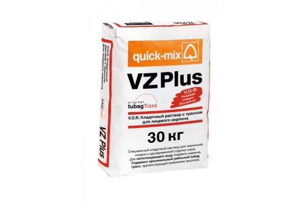 Кладочный раствор для лицевого кирпича VZ plus V.O.R. Quick-mix