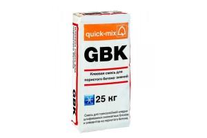 Клеевая смесь для ячеистого бетона - Зимняя GBK Quick-mix
