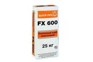 Плиточный клей, эластичный FX 600 Quick-mix