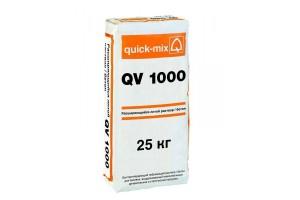 Расширяющийся литой раствор-бетон QV 1000 Quick-mix