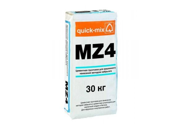 Цементная грунтовка для машинного нанесения MZ 4 Quick-mix