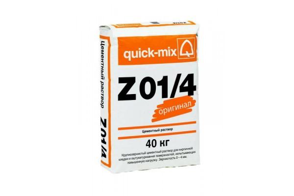 Цементный раствор крупнозернистый Z 01/4 Quick-mix