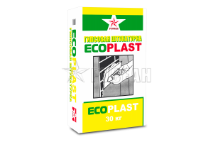 Штукатурка гипсовая EcoPlast Русеан