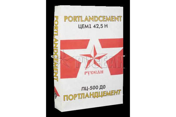 Цемент ПЦ М500 ДО Русеан, 50 кг