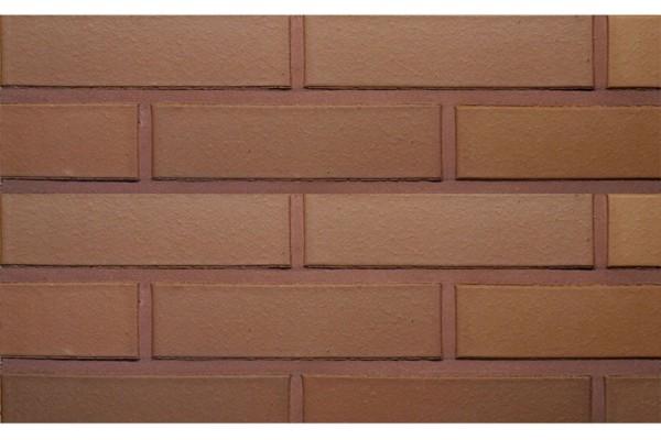 Облицовочный кирпич TERCA TERRA гладкий VAT 1НФ коричневый