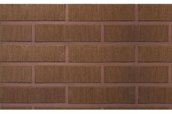 Облицовочный кирпич TERCA TERRA шероховатый VAT 1НФ коричневый