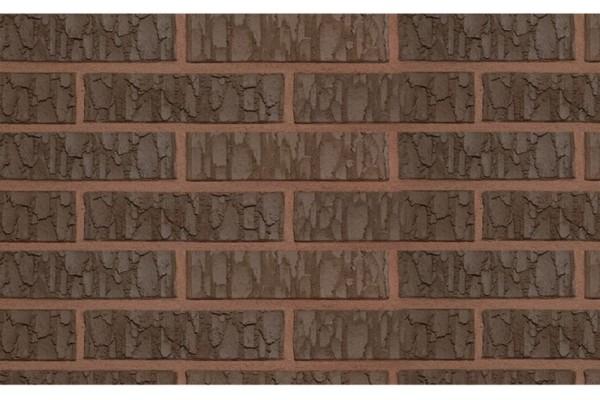 Облицовочный кирпич TERCA TERRA VULCANO FAT 0,7НФ коричневый