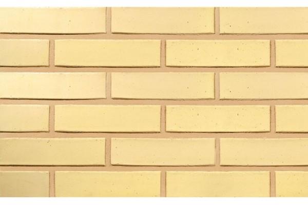 Облицовочный кирпич TERCA SAFARI гладкий FТТ 0,7НФ желтый