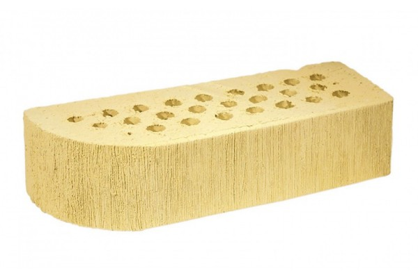 Облицовочный кирпич TERCA SAFARI шероховатый FAT-M 0,7НФ желтый