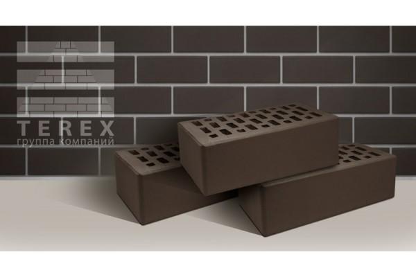Облицовочный кирпич Terex какао гладкий 1,4НФ