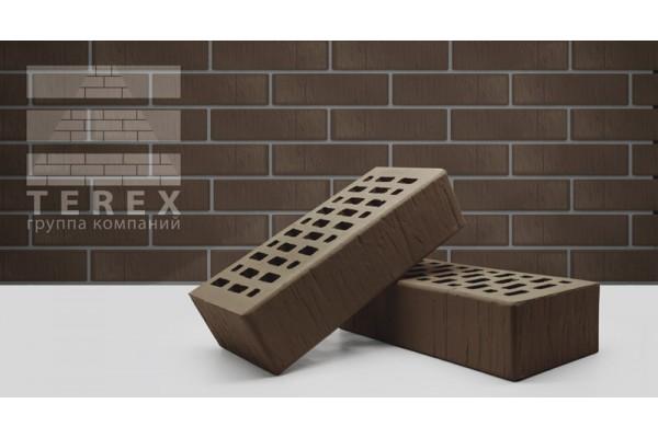 Облицовочный кирпич Terex какао шале 1НФ