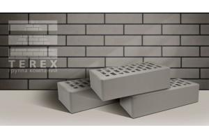 кирпич Terex серый гладкий 1НФ