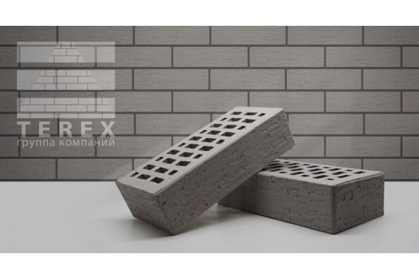 Облицовочный кирпич Terex серый кантри 1НФ