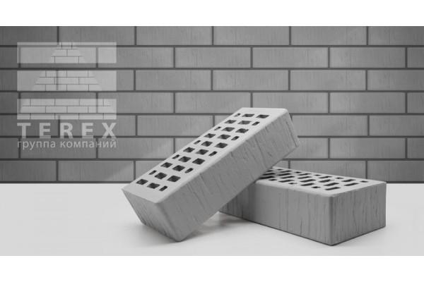 Облицовочный кирпич Terex серый шале 1НФ