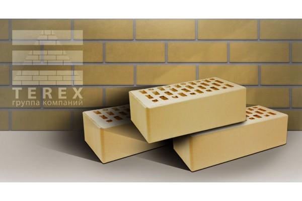 Облицовочный кирпич Terex слоновая кость 002 гладкий 1,4НФ