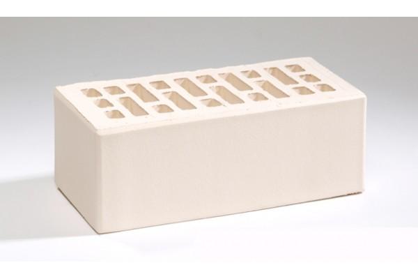 Кирпич облицовочный Воротынский белый жемчуг гладкий 1,4НФ