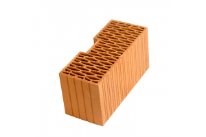 Керамический угловой блок Рorotherm PTH44R