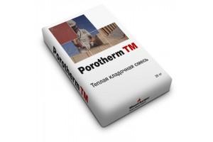 Теплый кладочный раствор Porotherm TM