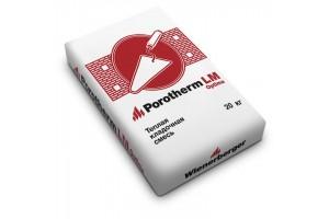 Теплый кладочный раствор Porotherm TM Winter -10